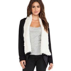 Jack BB Dakota Henderson Faux Leather Fur Jacket